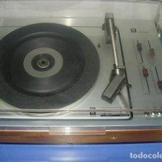 Radios antiguas: TOCADISCOS MODELO: PE 2010 VHS FABRICADO POR PERPETUUM-EBNER. Lote 139045362