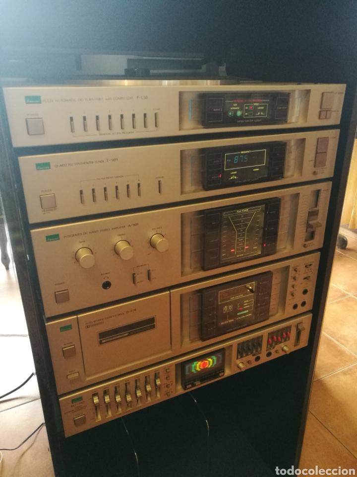 SANSUI GX 707 (Radios, Gramófonos, Grabadoras y Otros - Transistores, Pick-ups y Otros)