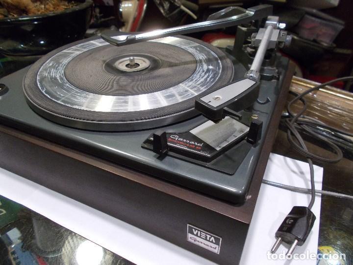 Radios antiguas: TOCADISCOS VIETA SYNCHRO - LAB 65 (G) - Foto 2 - 139084934