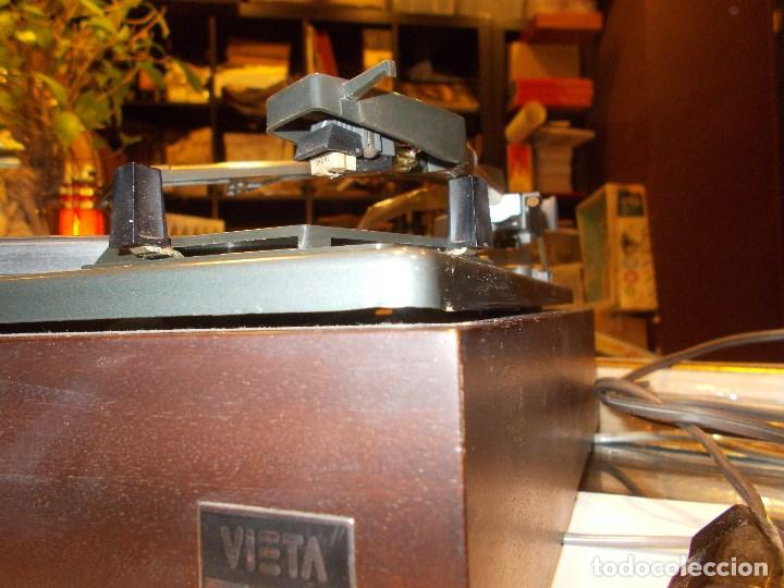 Radios antiguas: TOCADISCOS VIETA SYNCHRO - LAB 65 (G) - Foto 9 - 139084934