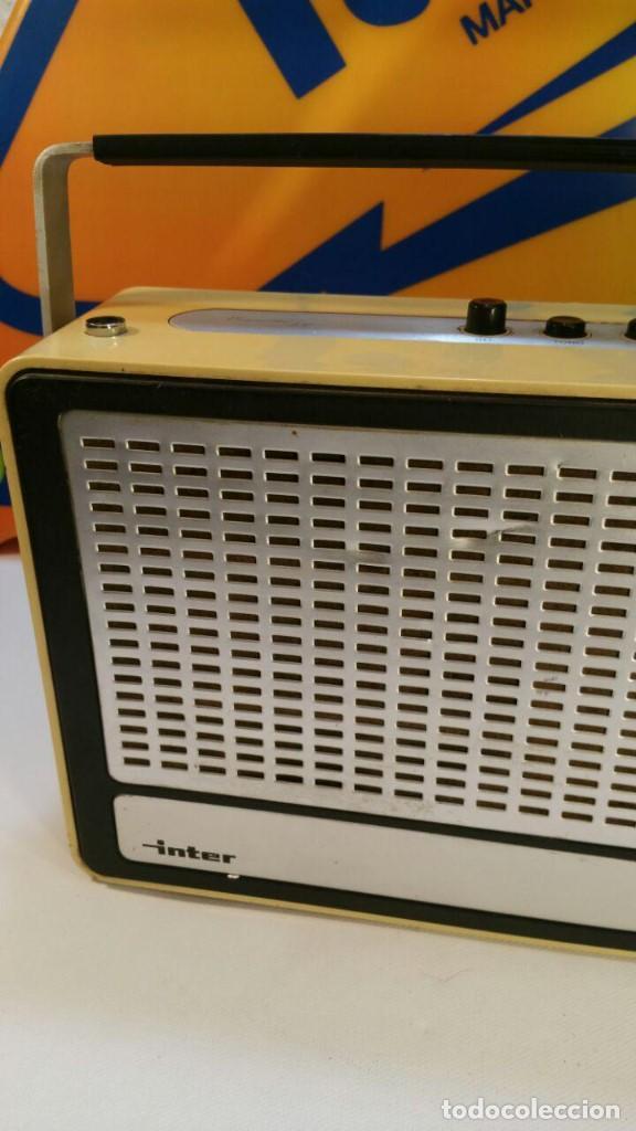 Radios antiguas: RADIO TRANSISTOR INTER EUROMODUL 150. FUNCIONA A 125v Y 220v. - Foto 4 - 139204278