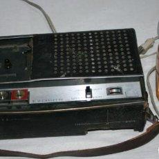 Radios antiguas: CASETE GRABADOR REPRODUCTOR ANTIGUO, TOP CASSETTE VANGUARD, CAHUE INDUSTRIAL. Lote 139356990