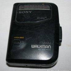 Radios antiguas: WALKMAN SONY VINTAGE DE CINTA CASSETTE. Lote 139359238