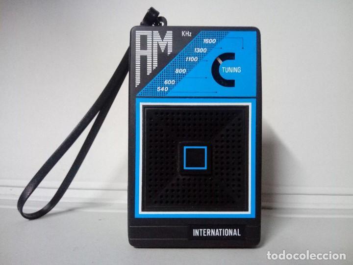 RADIO TRANSISTOR INTERNATIONAL (Radios, Gramófonos, Grabadoras y Otros - Transistores, Pick-ups y Otros)