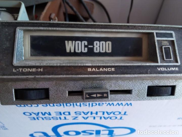WOC 800 (Radios, Gramófonos, Grabadoras y Otros - Transistores, Pick-ups y Otros)