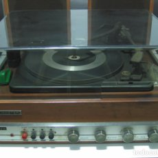 Radios Anciennes: SELMASTER GARRARD AT60 SOLID STATE CON 2 ALTAVOCES - '70S - CON DOCUMENTACIÓN ORIGINAL. Lote 139866098