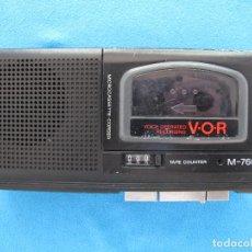 Radios antiguas: MINIGRABADORA SONY TIPO PERIODISTA, AÑOS 80. Lote 139879198
