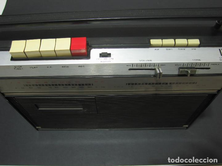 Radios antiguas: Radio ORION Solid State 4 Band cassette Tape Recorder - 60s - 117/220v AC/DC - Foto 3 - 139989422