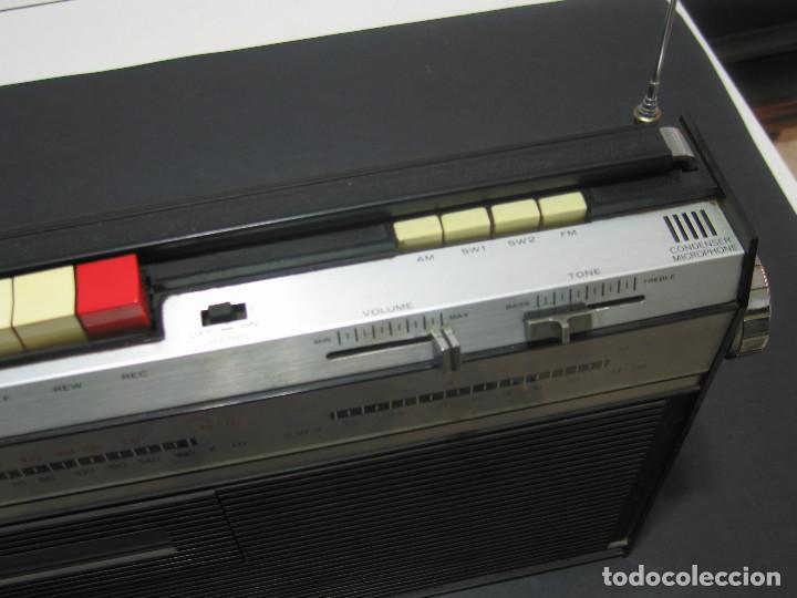 Radios antiguas: Radio ORION Solid State 4 Band cassette Tape Recorder - 60s - 117/220v AC/DC - Foto 4 - 139989422