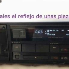 Radios antiguas: REPRODUCTOR-GRABADOR DE CINTAS CASSETTE SONY TC R503ES FUNCIONA. Lote 140045094