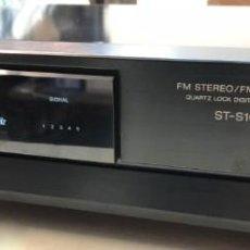 Radios antiguas: SINTONIZADOR RECEPTOR RADIO SONY FM STEREO/ FM-AM TUNER ST-S100L. Lote 140048534