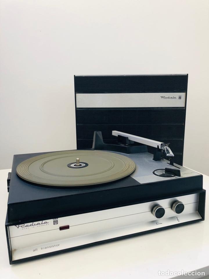 Radios antiguas: Radiola all transistor - Foto 5 - 140119813