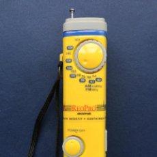Radios antiguas: RADIO TRANSISTOR PUBLICIDAD FARMACEÚTICA MEDICAMENTO REOPRO ABCIXIMAB AM FM. Lote 173046760