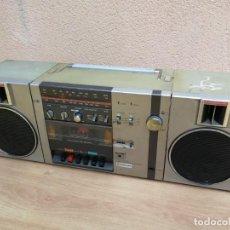 Rádios antigos: BOOMBOX RADIO TRANSISTOR CASSETTE SAMSUNG STEREO 2000 P 50L RADIO FUNCIONA CASSETTE NO. Lote 140794614