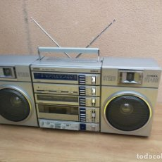 Radios antiguas: BOOMBOX RADIO TRANSISTOR CASSETTE FISHER PH 480L RADIO FUNCIONANDO CASSETTE NO. Lote 178065300