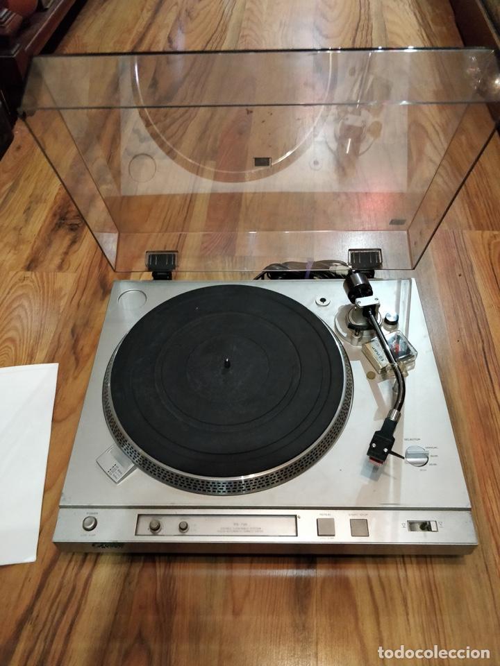 Radios antiguas: Giradiscos SONY PS-T25, 38x44cm, Fabricado en España para 120 o 220V. - Foto 9 - 140861270