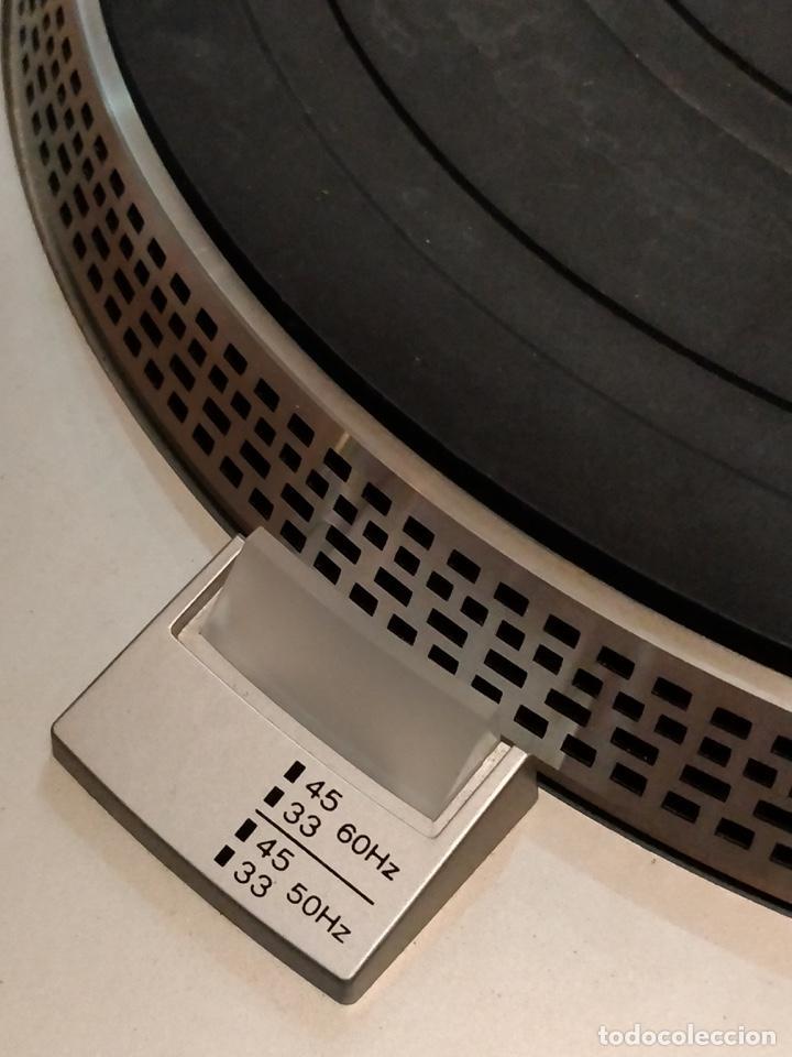 Radios antiguas: Giradiscos SONY PS-T25, 38x44cm, Fabricado en España para 120 o 220V. - Foto 10 - 140861270