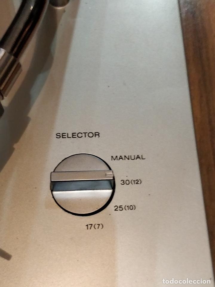 Radios antiguas: Giradiscos SONY PS-T25, 38x44cm, Fabricado en España para 120 o 220V. - Foto 11 - 140861270