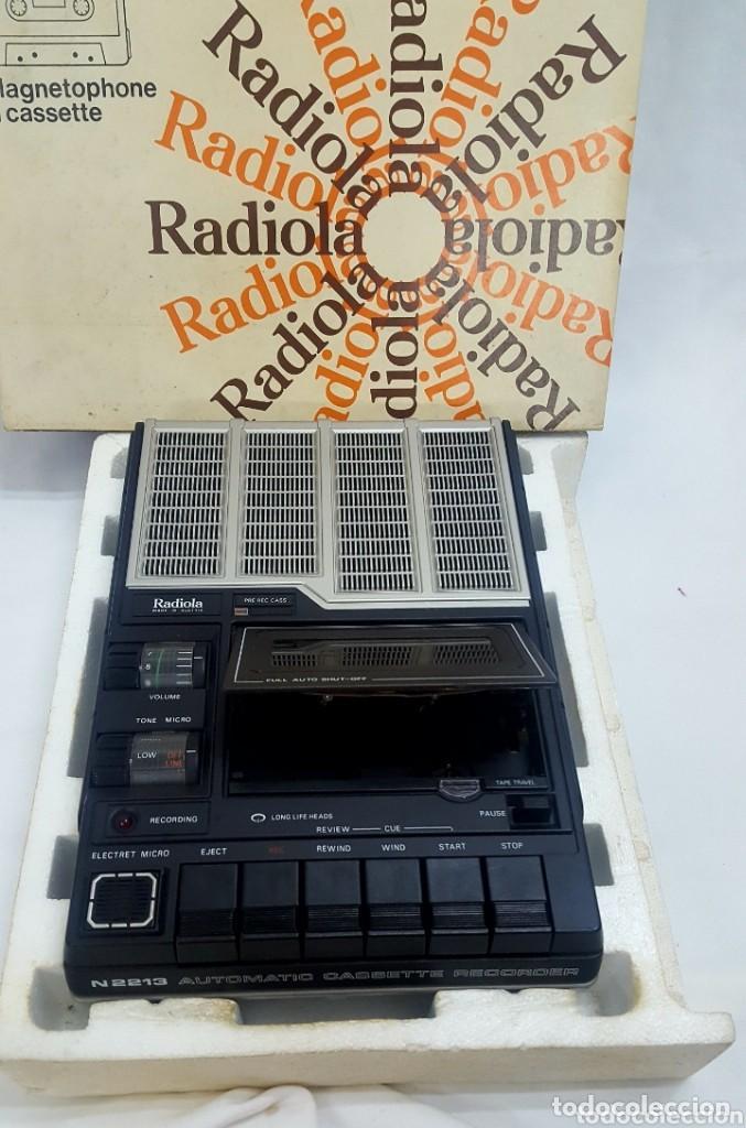 CASETE RADIOLA (Radios, Gramófonos, Grabadoras y Otros - Transistores, Pick-ups y Otros)