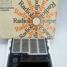 Radios antiguas: CASETE RADIOLA. Lote 140895738