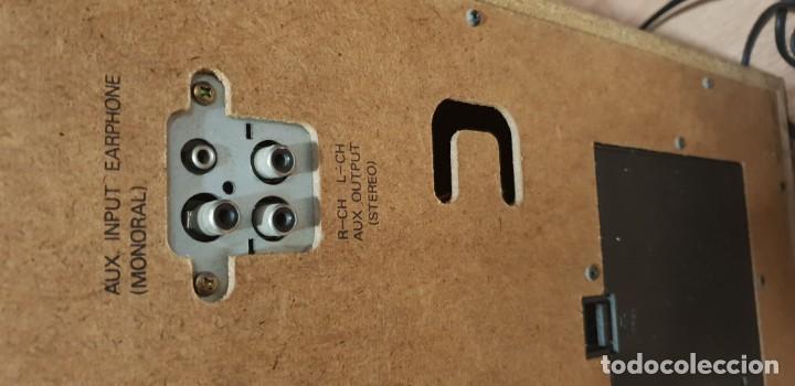 Radios antiguas: Karaoke primitivo de cartuchos años 70 80 funcionando con 2 micros - Foto 5 - 141273110