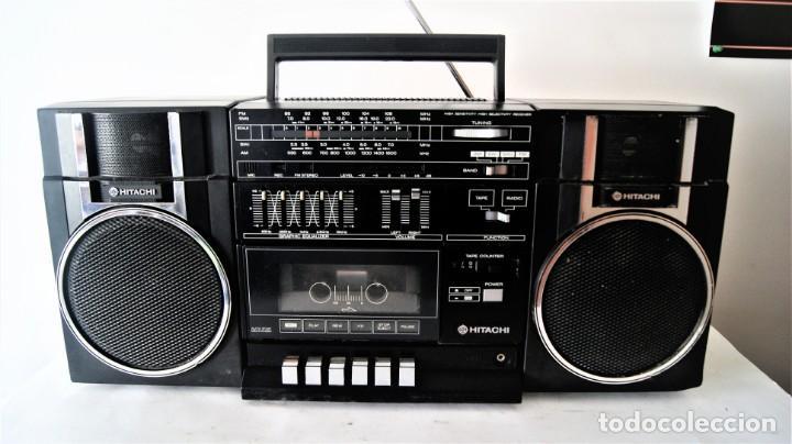 MINI CADENA HITACHI TRK-9005H (Radios, Gramófonos, Grabadoras y Otros - Transistores, Pick-ups y Otros)