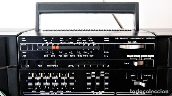 Radios antiguas: MINI CADENA HITACHI TRK-9005H - Foto 2 - 141662898