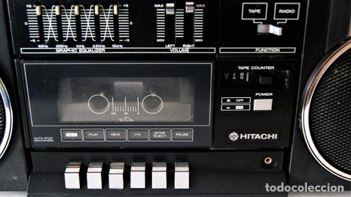 Radios antiguas: MINI CADENA HITACHI TRK-9005H - Foto 3 - 141662898