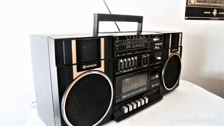 Radios antiguas: MINI CADENA HITACHI TRK-9005H - Foto 4 - 141662898