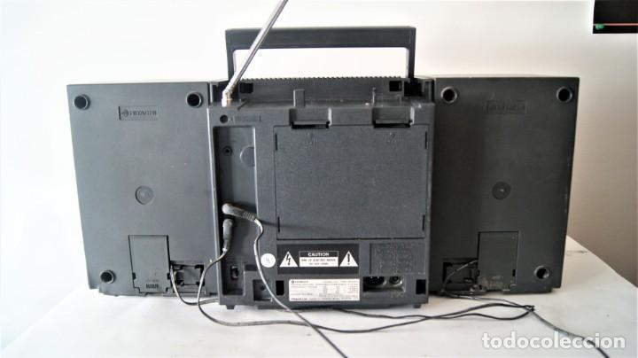 Radios antiguas: MINI CADENA HITACHI TRK-9005H - Foto 5 - 141662898