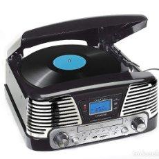 Radios antiguas: REPRODUCTOR DE CD/ MP3/ USB /SD CON TOCADISCOS QUE CODIFICA A USB Y TARJETA SD CON RADIO LAUSON. Lote 141788658