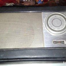 Radios antiguas: RADIO TRANSISTOR INTER CON FUNDA FUNCIONANDO. Lote 142049530