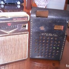 Radios antiguas: ANTUGUO TRANSISTOR IMPERIAL. BUEN ESTADO . Lote 142237166