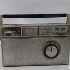 Radios antiguas: ANTIGUA RADIO PHILIPS ALL TRANSISTOR. FALTA TAPA DE LAS PILAS.. Lote 142329490