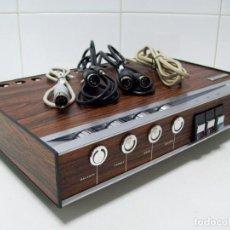 Radios antiguas: AMPLIFICADOR RADIOLA RA-5922. REDUCIDO TAMAÑO. STEREO, 2X9W. FUNCIONA.. Lote 142462770