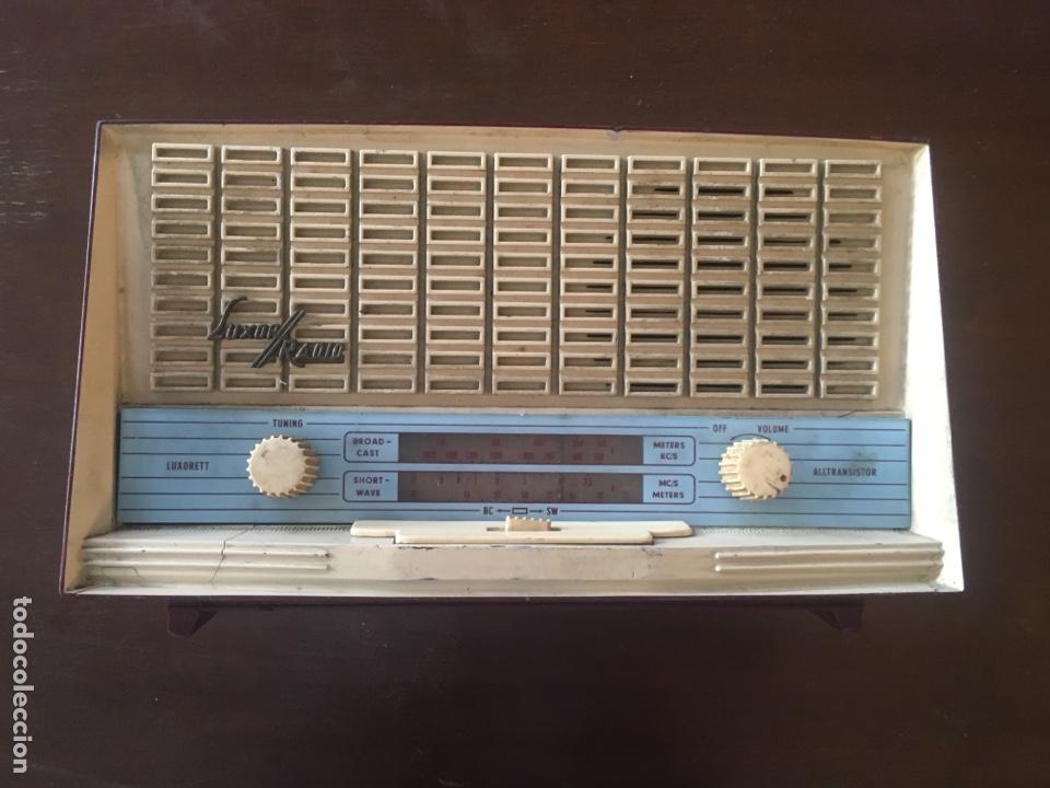LUXOR RADIO (Radios, Gramófonos, Grabadoras y Otros - Transistores, Pick-ups y Otros)