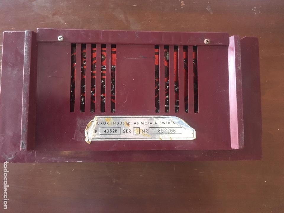 Radios antiguas: Luxor radio - Foto 3 - 142517308