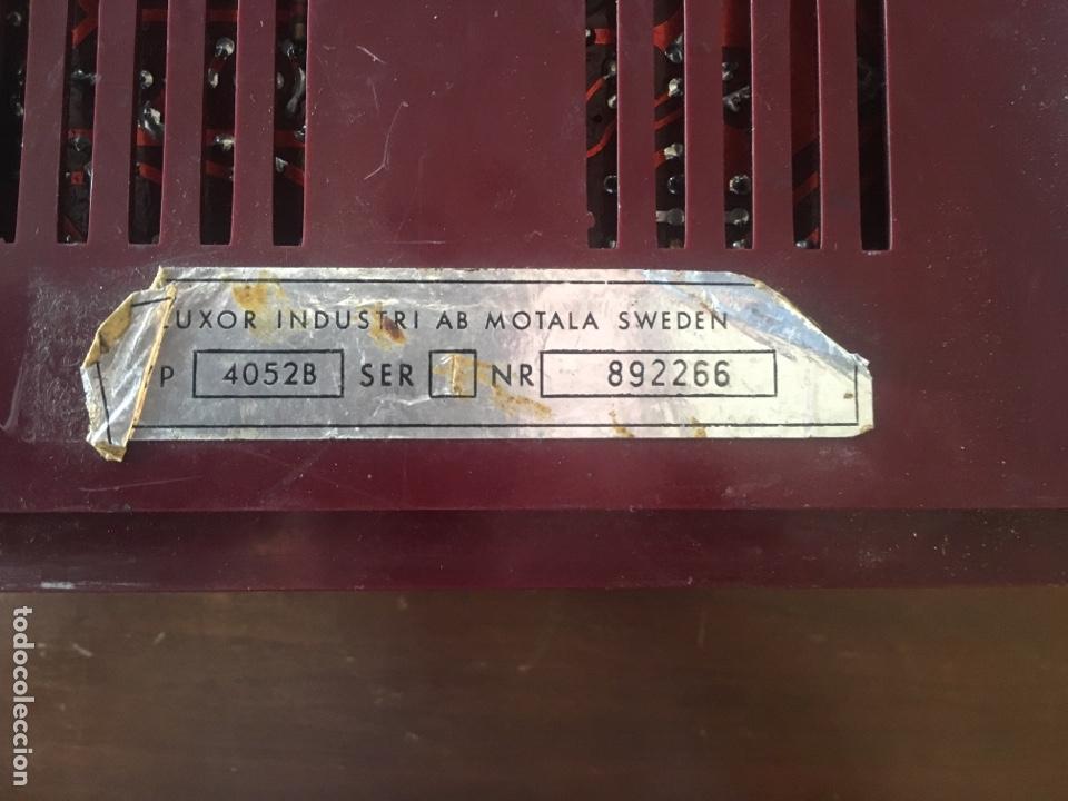 Radios antiguas: Luxor radio - Foto 4 - 142517308