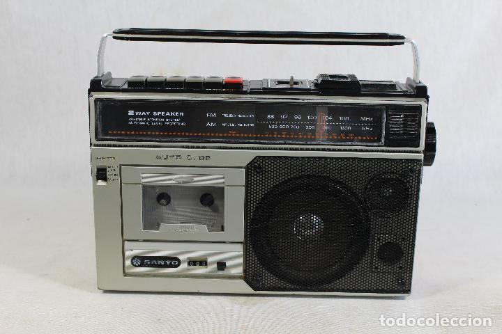 RADIO SANYO M 2554 F (Radios, Gramófonos, Grabadoras y Otros - Transistores, Pick-ups y Otros)