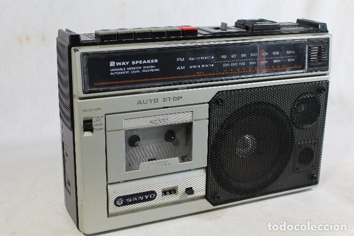 Radios antiguas: RADIO sanyo m 2554 F - Foto 2 - 142638998