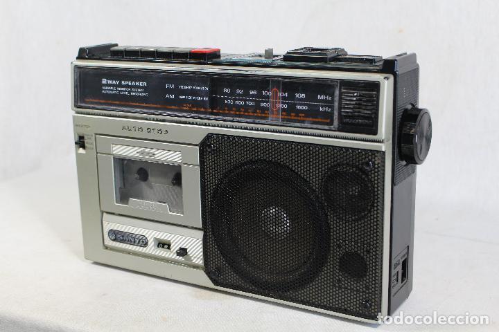 Radios antiguas: RADIO sanyo m 2554 F - Foto 3 - 142638998