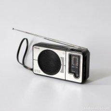 Radios antiguas: ANTIGUO RADIO TRANSISTOR AM FM MARCA PHILIPS, MODELO 070. MADE IN GERMANY. ORIGINAL, AÑO 1978.. Lote 142756990