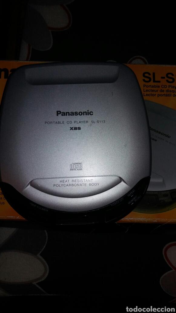 Radios antiguas: PORTABLE CD PLAYER. REPRODUCTOR DE MÚSICA CD PORTÁTIL MARCA PANASONIC - Foto 2 - 142809805