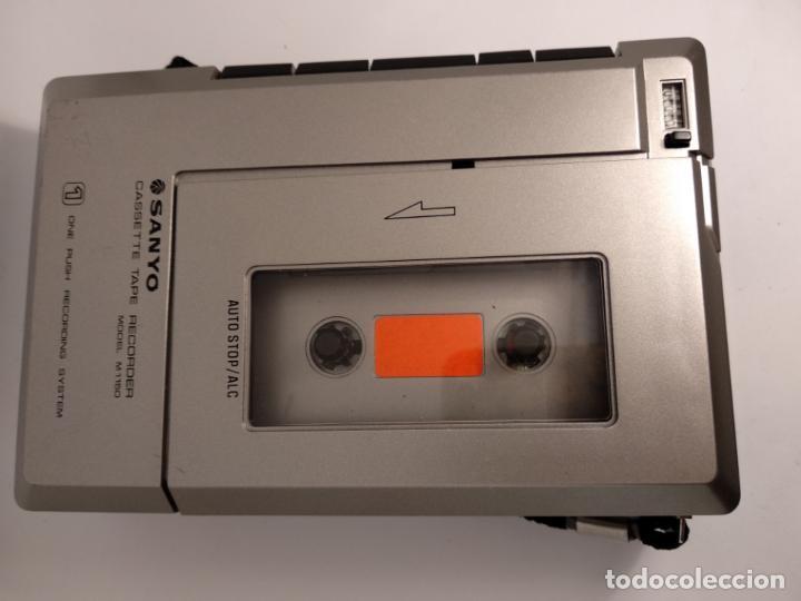 CASSETTE CASETE TAPE RECORDER SANYO MODELO M 1150 (Radios, Gramófonos, Grabadoras y Otros - Transistores, Pick-ups y Otros)