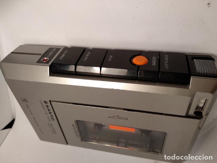 Radios antiguas: Cassette Casete tape recorder SANYO Modelo M 1150 - Foto 2 - 142813230
