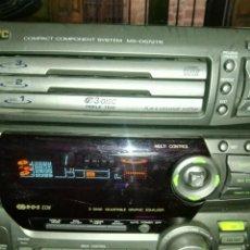 Radios antiguas: MINI CADENA JVC FUNCIONA SP-D672. Lote 142900330