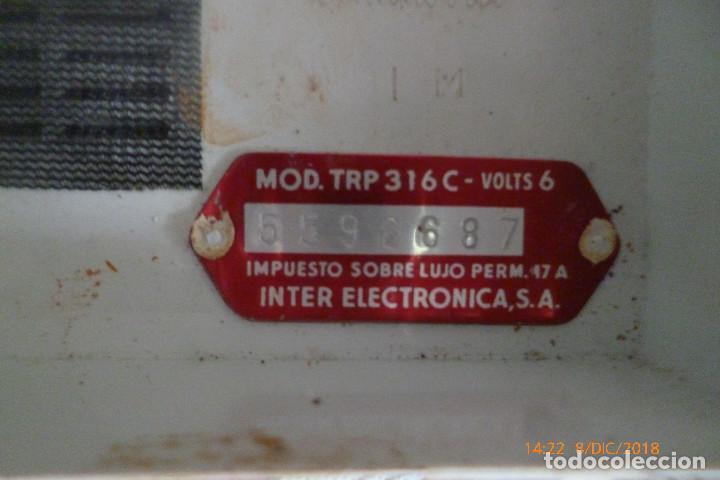 Radios antiguas: radio inter vintage - Foto 2 - 142964638
