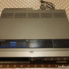 Radios antiguas: REPRODUCTOR DE VIDEO Y GRABADOR - SONY BETAMAX - MODELO SL F60 PS. Lote 143027602
