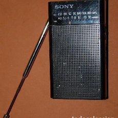Radios antiguas: RADIO TRANSISTOR DE BOLSILLO SONY. Lote 143084738