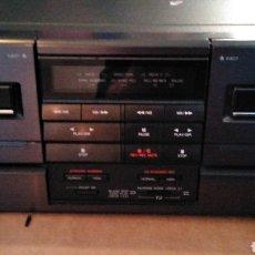 Radios antiguas: MÓDULO STEREO CASSETTE AIWA FX-WZ92 PARA CINTAS AUTO REVERSE. Lote 143390001